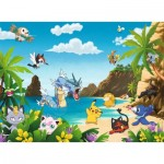 Ravensburger-12840 Pièces XXL - Pokemon