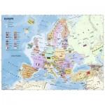 Ravensburger-12841 Pièces XXL - Carte d'Europe