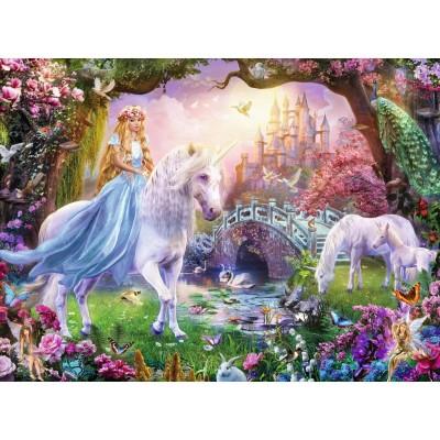 Ravensburger-12887 Pièces XXL - Licornes Magiques