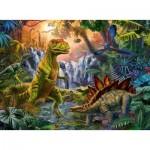 Ravensburger-12888 Pièces XXL - L'oasis des Dinosaures