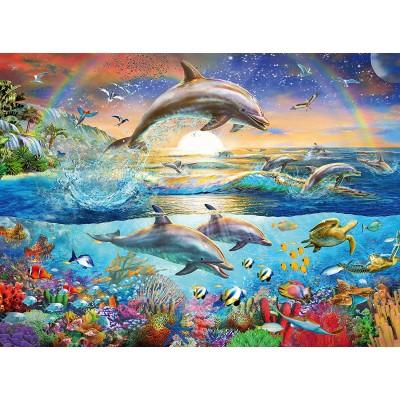 Ravensburger-12895 Dolphin Paradise