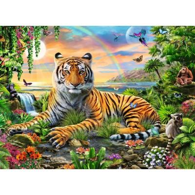 Ravensburger-12896 Pièces XXL - Le Roi de la Jungle