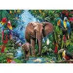 Ravensburger-12901 Pièces XXL - Éléphants