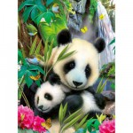 Ravensburger-13065 Charmant panda