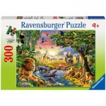 Ravensburger-13073 Soirée à l'Abreuvoir