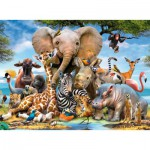Ravensburger-13075 Bébés Animaux de la Jungle