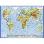Ravensburger-13097 Carte du Monde, en Allemand