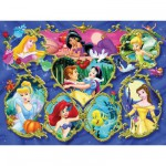 Ravensburger-13108 Princesses Disney : Galerie des Princesses