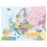 Ravensburger-13132 Carte de l'Europe (en Hollandais)