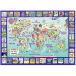 Ravensburger-13190 Looking at the World
