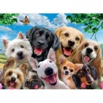 Ravensburger-13228 Pièces XXL - Delighted Dogs
