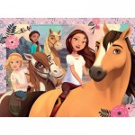 Ravensburger-13252 Pièces XXL - DreamWorks - Spirit Riding Free