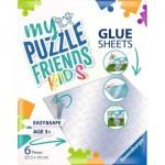 Ravensburger-13301 My Puzzle Friends Glue Sheets