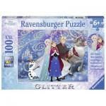 Ravensburger-13610 Pièces XXL - La Reine des Neiges - Pièces éteincelantes