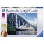 Ravensburger-13647 Pièces XXL - Mein Schiff 4 im Fjord