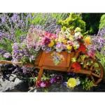 Ravensburger-13685 Pièces XXL - Brouette de Fleurs