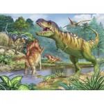 Ravensburger-13695 Pièces XXL - Dinosaures