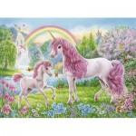 Ravensburger-13698 Coloring Booklet - Licornes Magiquess