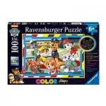 Ravensburger-13703 Color Star Line - Paw Patrol