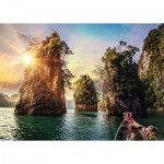 Ravensburger-13968 Nature Edition No 15 - Three Rocks in Cheow, Thailand