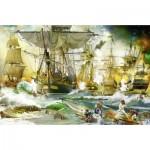 Ravensburger-13969 Bataille en Haute Mer