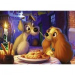 Ravensburger-13972 Disney - La Belle et le Clochard