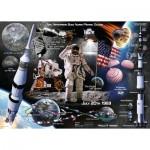 Ravensburger-13980 Apollo 11 50th Anniversary Collestor's Edition