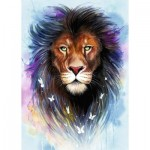 Ravensburger-13981 Lion Majestueux