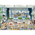 Ravensburger-13985 London Tea Party