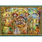 Ravensburger-14183 Famille Disney