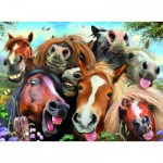 Ravensburger-14695 Selfies - Horsing Around