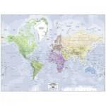 Ravensburger-14760 Carte du Monde