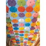 Ravensburger-14765 Parapluies Colorés
