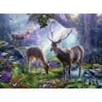 Ravensburger-14828 Cerfs dans la Forêt