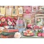 Ravensburger-14838 Vintage Tea Party