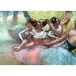 Ravensburger-14847 Degas Edgar - Quatre Ballerines sur la Scène