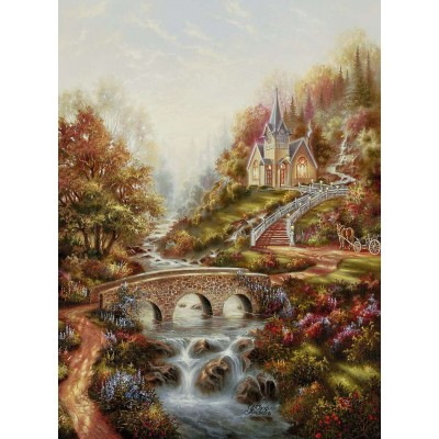 Ravensburger-14986 L'Heure Dorée