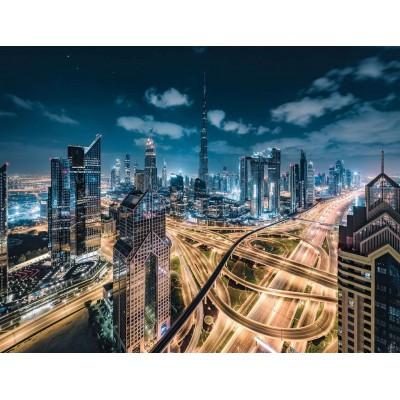 Ravensburger-15017 Vue sur Dubaï
