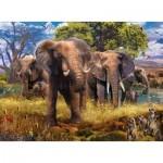 Ravensburger-15040 Famille d'Eléphants