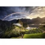 Ravensburger-15158 Arc-en-Ciel sur Machu Picchu, Pérou
