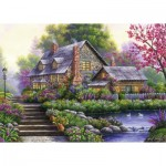 Ravensburger-15184 Cottage Romantique