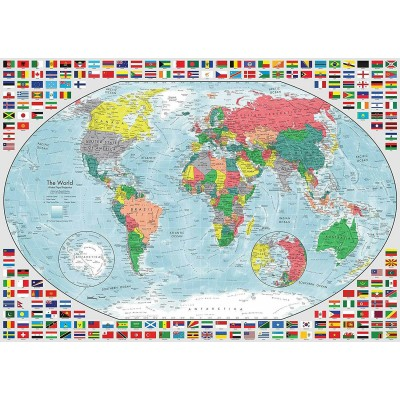 Ravensburger-15253 Map of the World