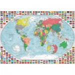 Ravensburger-15253 Map of the World
