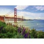 Ravensburger-15289 Golden Gate Sunrise