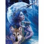 Ravensburger-15414 Entre femme et loup
