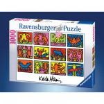 Ravensburger-15615 Keith Haring : Rétrospective