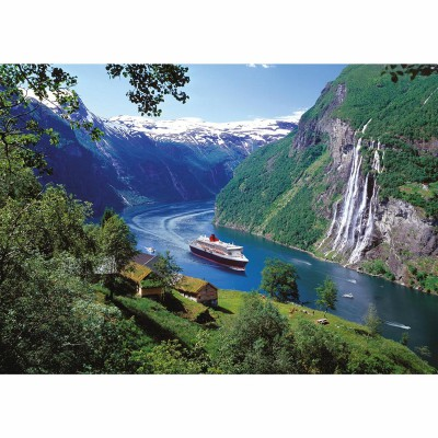 Ravensburger-15804 Fjord norvégien