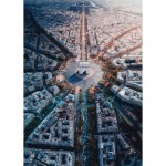 Ravensburger-15990 Paris vue d'en Haut