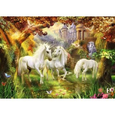 Ravensburger-15992 Licornes dans la Forêt