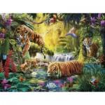 Ravensburger-16005 Tigres au Plan d'Eau